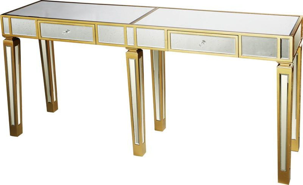 home mirror console table with gold accent modish tap expand ikea childrens furniture storage elegant placemats patio swing unique entryway tables black glass nightstand door