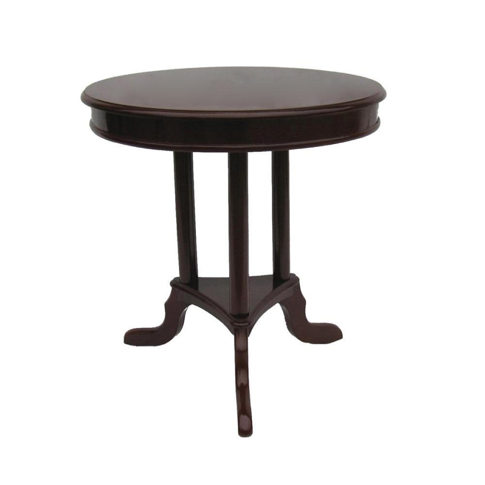 home source early american accent end table mahogany red small tables espresso finish coffee lamp for living room west elm outdoor furniture garden sets ryobi plexiglass cube wall