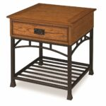 home style modern craftsman end table distressed oak small pine accent finish kitchen dining bird purple lamp keter beer cooler target patio black aluminum outdoor coffee metal 150x150