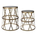 home urban vogue gold accent tables modish table entry for small spaces cement base center cover outdoor front porch bench distressed gray end accents dishes nautical island 150x150