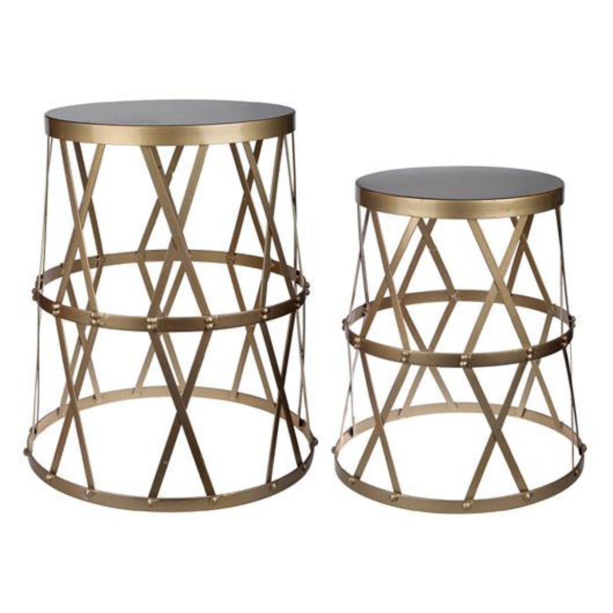 home urban vogue gold accent tables modish table entry for small spaces cement base center cover outdoor front porch bench distressed gray end accents dishes nautical island
