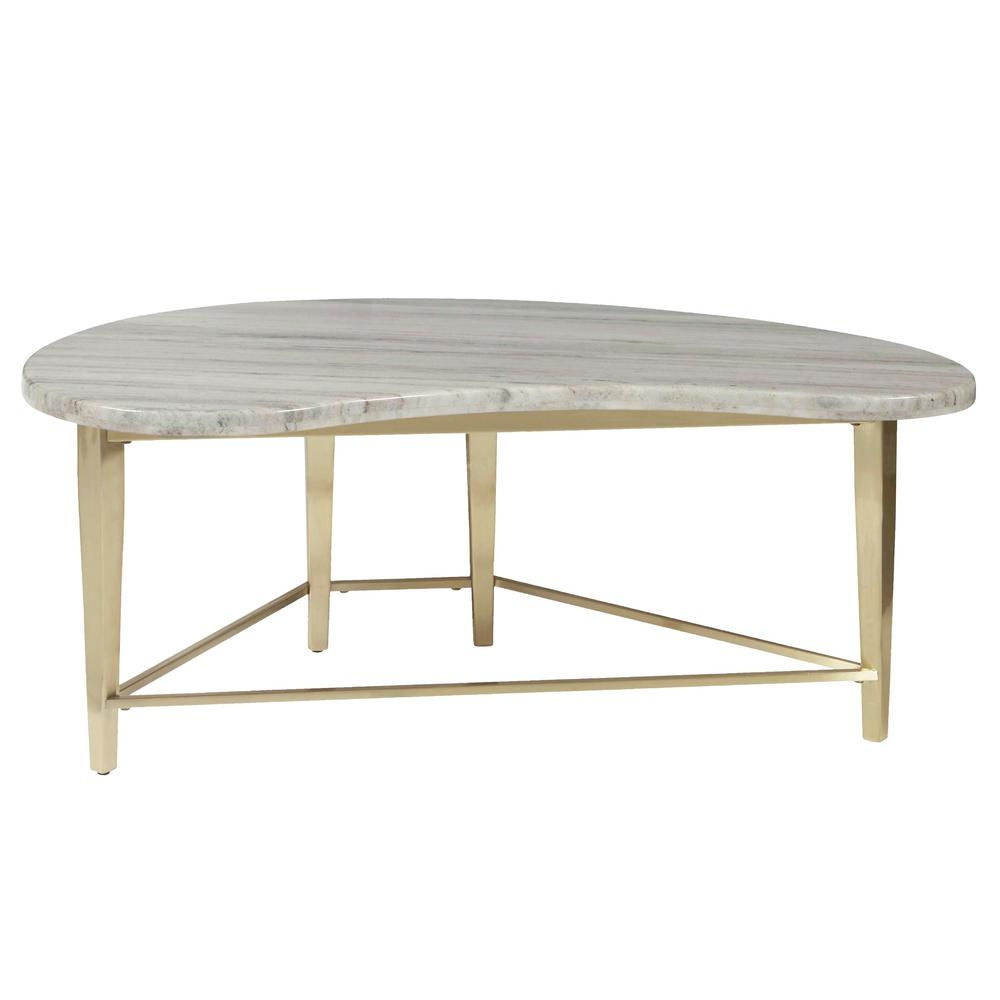 homefare kidney shaped marble top cocktail table the home coffee tables accent sets ikea wicker furniture outdoor sun lounge outside lawn chairs piece nest patio sofa clearance
