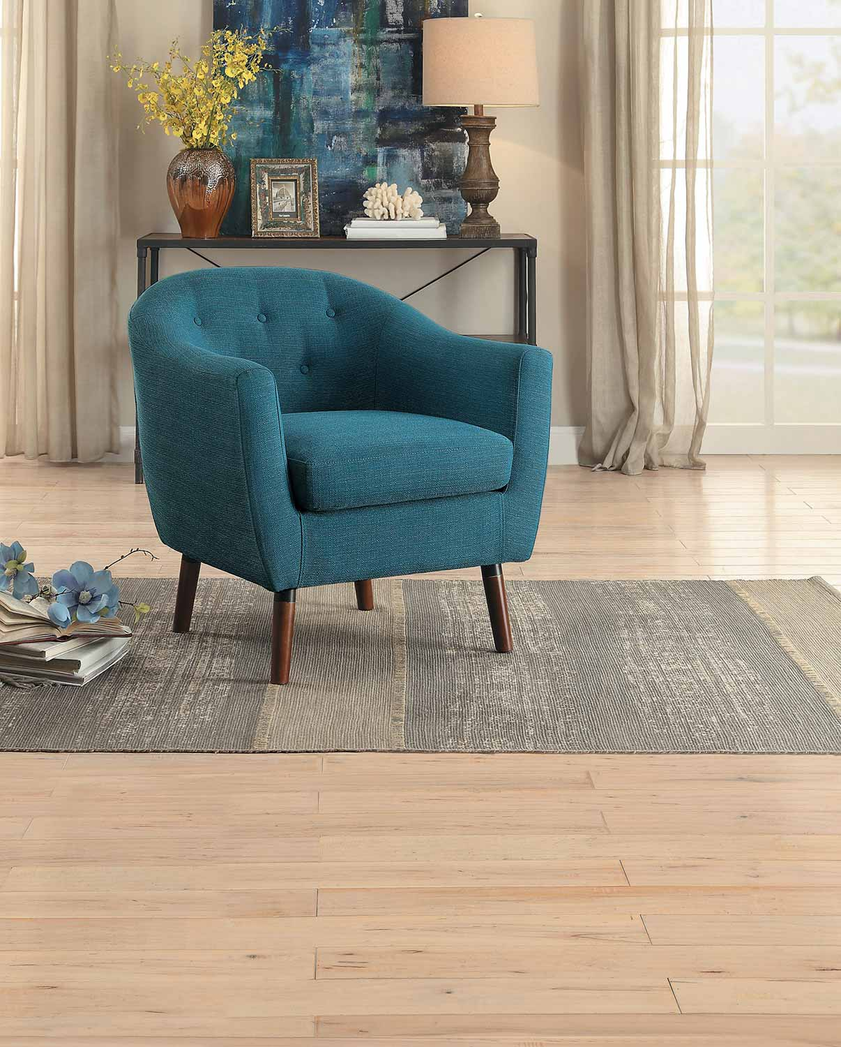 homelegance lucille accent chair blue furniture toronto home chairs mid century bar table west elm mini desk target dinner outside wall clocks glass top outdoor coffee for patio
