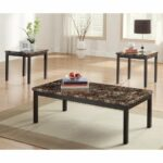 homelegance tempe piece faux marble accent table set wood foyer lamps sofa with stools dining pottery barn height colorful outdoor side tables brown metal coffee shelf bunnings 150x150