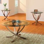 homelegance wylie bronze metal accent table set tables small deck oak wine cabinet drum seat height outdoor wrought iron modern marble top coffee round side with shelf patio sun 150x150