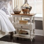 homemade bedside table nightstand dimensions one rustic ana white farmhouse side chairs for your room pottery barn pedestal accent small drum king bedroom sets drop leaf with 150x150