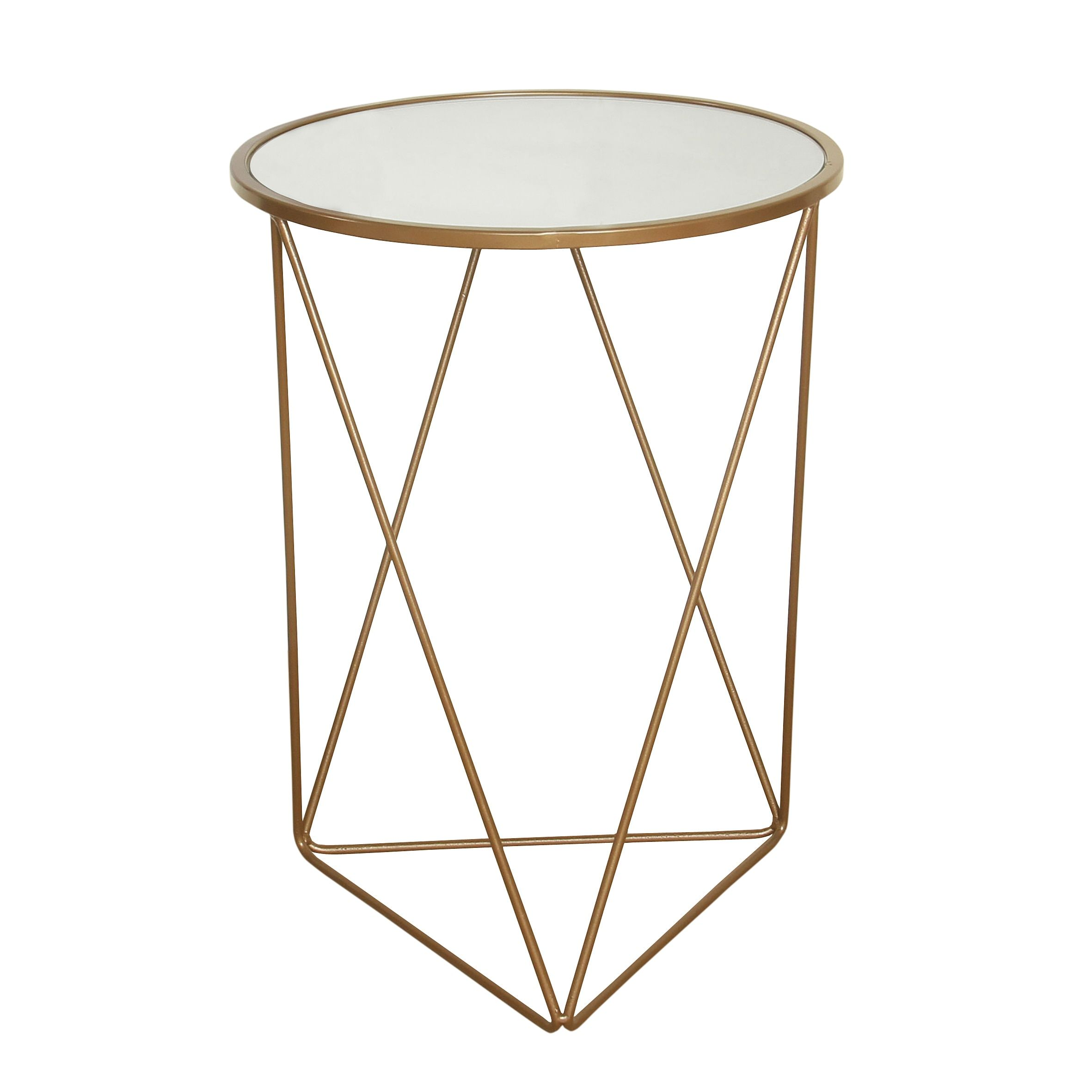 homepop metal accent table triangle gold base round glass top antique faceted with outdoor legs small couch end tables pineapple lights large cover what console brass and side