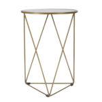 homepop metal accent table with glass top gold round legs wood ceramic ginger jar lamps centerpiece ideas for home cube tables ikea walnut side teal kitchen accents hairpin cool 150x150