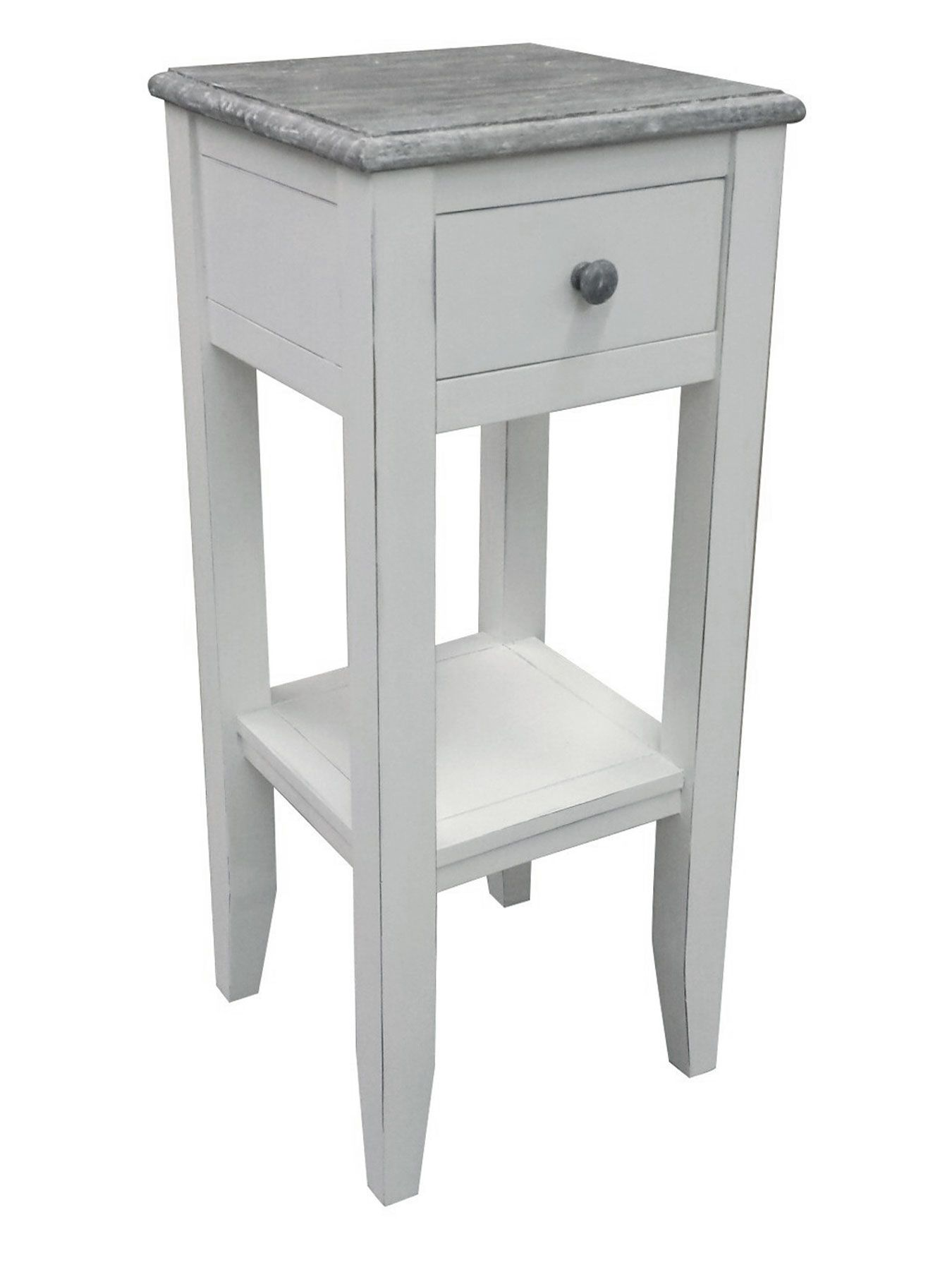 homestead accent table cottage home island collection tall islands console with storage iron wall clock elm chair green marble top coffee bar tables white linen tablecloth ashley