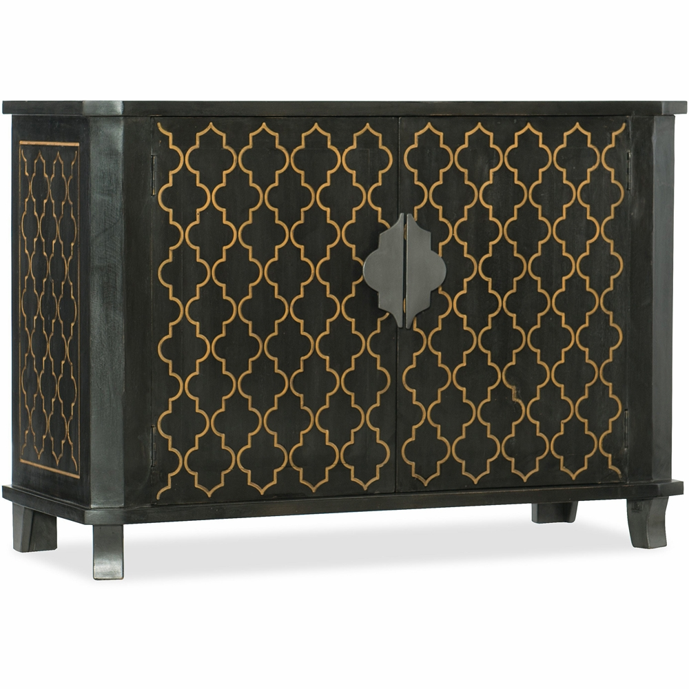 hooker furniture accent chest dkw threshold fretwork table teal hover zoom cherry wood night mid century modern dining room chairs solid coffee with drawers foyer mirror glass