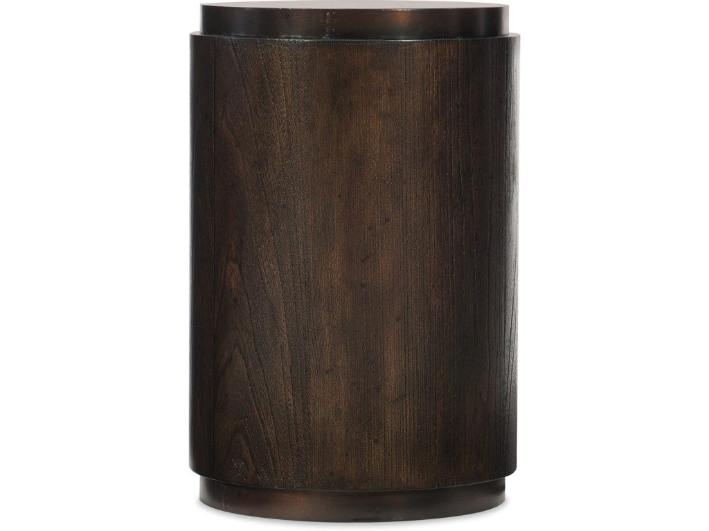 hooker furniture american life crafted round drum table howell products color shaped accent crafteddrum slim storage unit ikea bathroom towels bookcase beach kitchen decor light