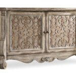 hooker furniture chatelet buffet with fretwork doors olinde products color threshold accent table teal chateletbuffet end tables for small spaces door console cabinet wrought iron 150x150