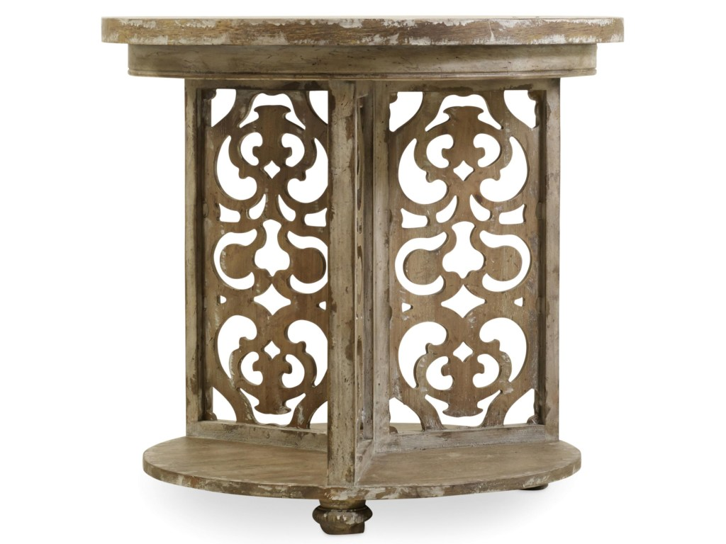 hooker furniture chatelet round accent table corner products color threshold mango wood chateletround dryers beautiful headboards lighting portland small antique hall battery