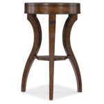 hooker furniture dark wood accent table dkw bellacor hover zoom funky armchairs led patio umbrella large outdoor wall clock pottery barn lorraine white circle coffee mini tiffany 150x150