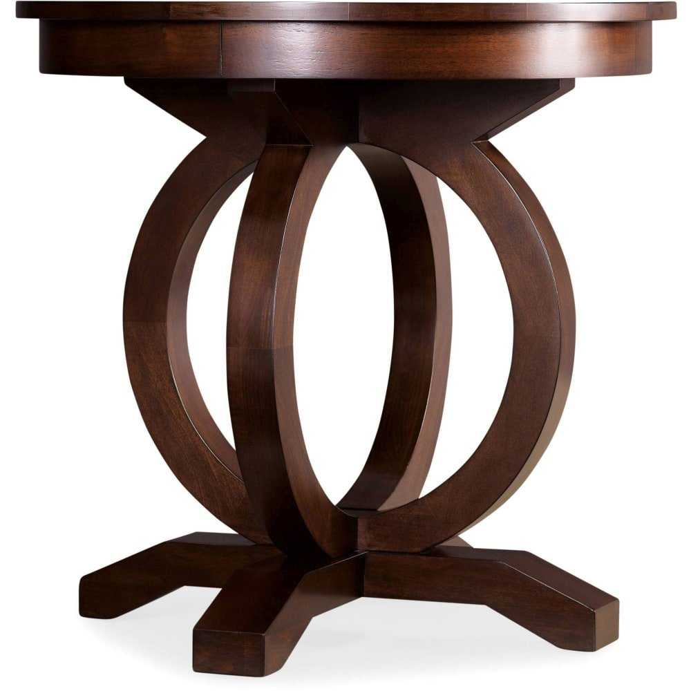 hooker furniture inch wide hardwood accent table from the kinsey janika dark wood stain free shipping today coffee with storage baskets small side corner display cabinet ashley