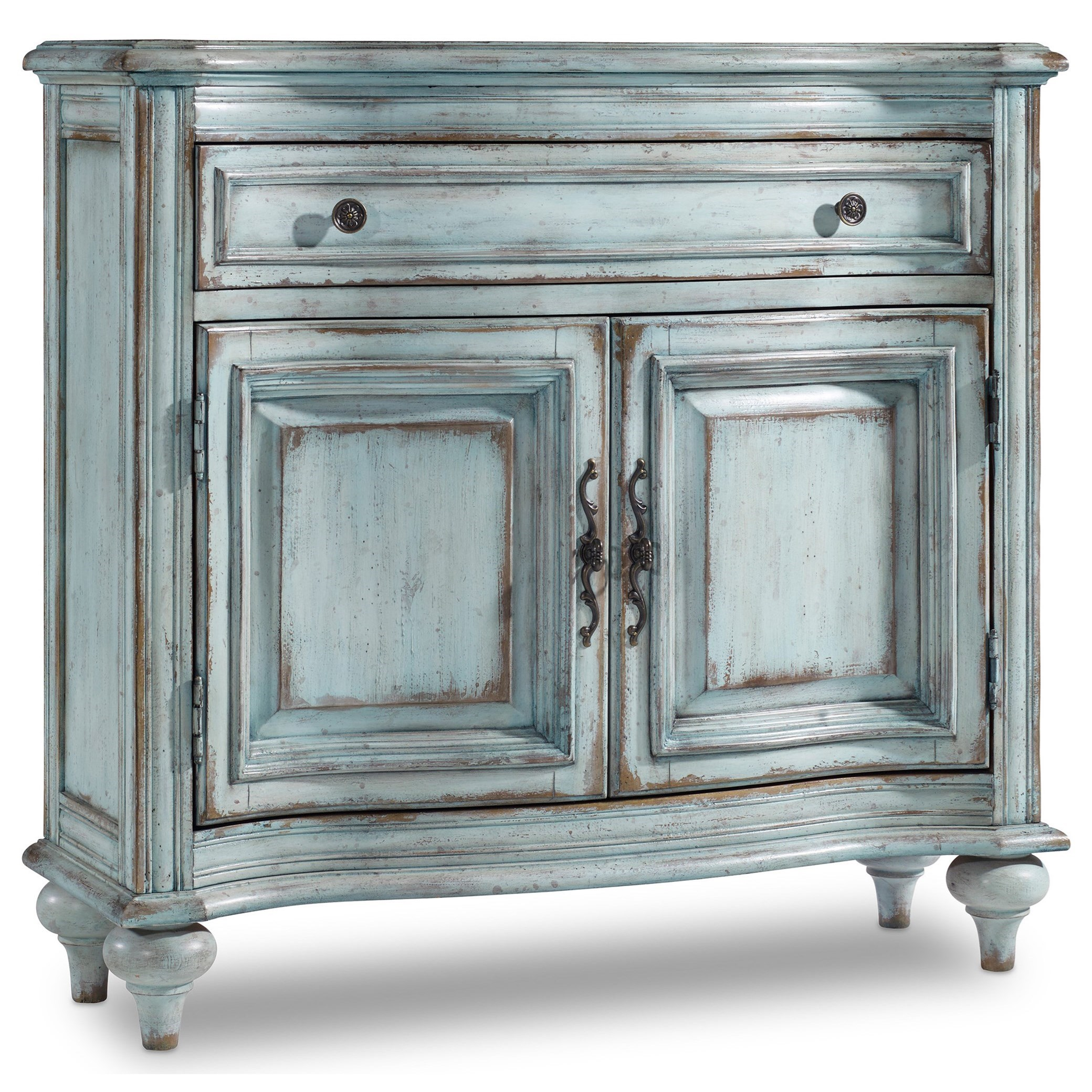 hooker furniture living room accents ltbe drawer door products color accent table with drawers and doors chest nautical light fixtures antique round hall kitchen pendant lights