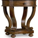 hooker furniture living room archivist round accent end table silo tables worlds away diy kitchen plans timber brisbane mirrored sofa rustic home decor target kids desk bedside 150x150