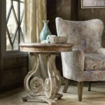 hooker furniture living room chatelet scroll accent table tables beverage tub with stand small trestle legs black metal end rustic round dining pier one imports coffee white 150x150
