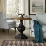 hooker furniture living room sanctuary round accent table sets patio cover piece dining clearance umbrella base autumn tablecloth lamp shades plus miniature bistro coastal 150x150