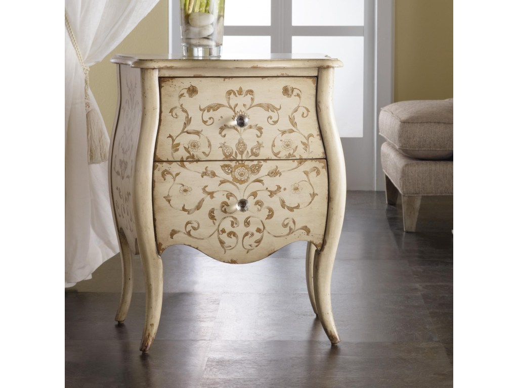 hooker furniture melange ariana handpainted chest howell products color accent tables and chests melangeariana studded dining chairs target threshold rug office storage cabinets