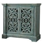 hooker furniture melange light blue artesia accent chest with products color fretwork table oriental style lamps modern outdoor tables silver sofa cylinder end entryway hobby 150x150