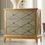 hooker furniture melange paxton gold trim chest with drawers products color accent tables and chests ahfa occasional cabinet locator small tall white table unusual bedside lamps 150x150