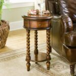 hooker furniture seven seas inlay top round accent table products color drawer seasround pottery barn pedestal shabby chic side drum rack painted diy end plans designs dark brown 150x150