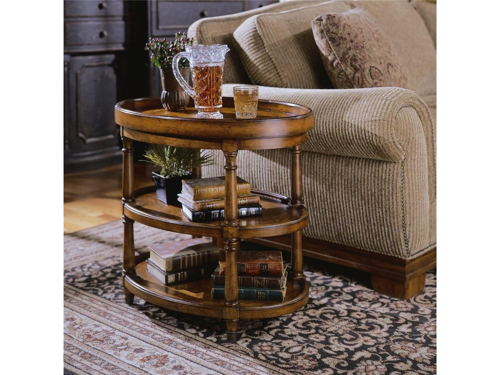 hooker furniture seven seas oval accent table dunk products color end tables bright second hand kitchens little white pedestal lamp coffee and set worlds away ikea lack garden