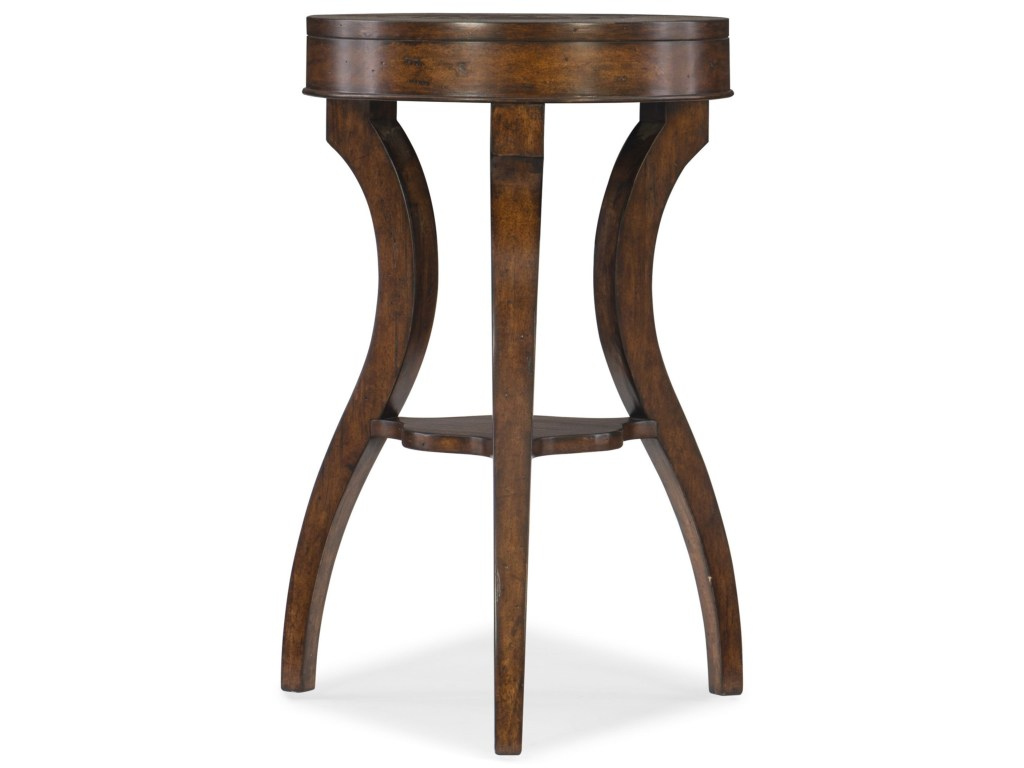 hooker furniture transitional accent table with small shelf products color dkw shelves living room tables corner round kitchen sets for cymbal stand garden patio set dark wood and