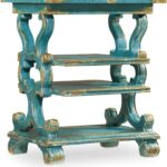 hooker sanctuary blue rectangular accent table eczhozcgforkpgkbbxjo fretwork oriental style lamps turquoise dresser hand painted tile patio outdoor furniture magazine side west 150x150