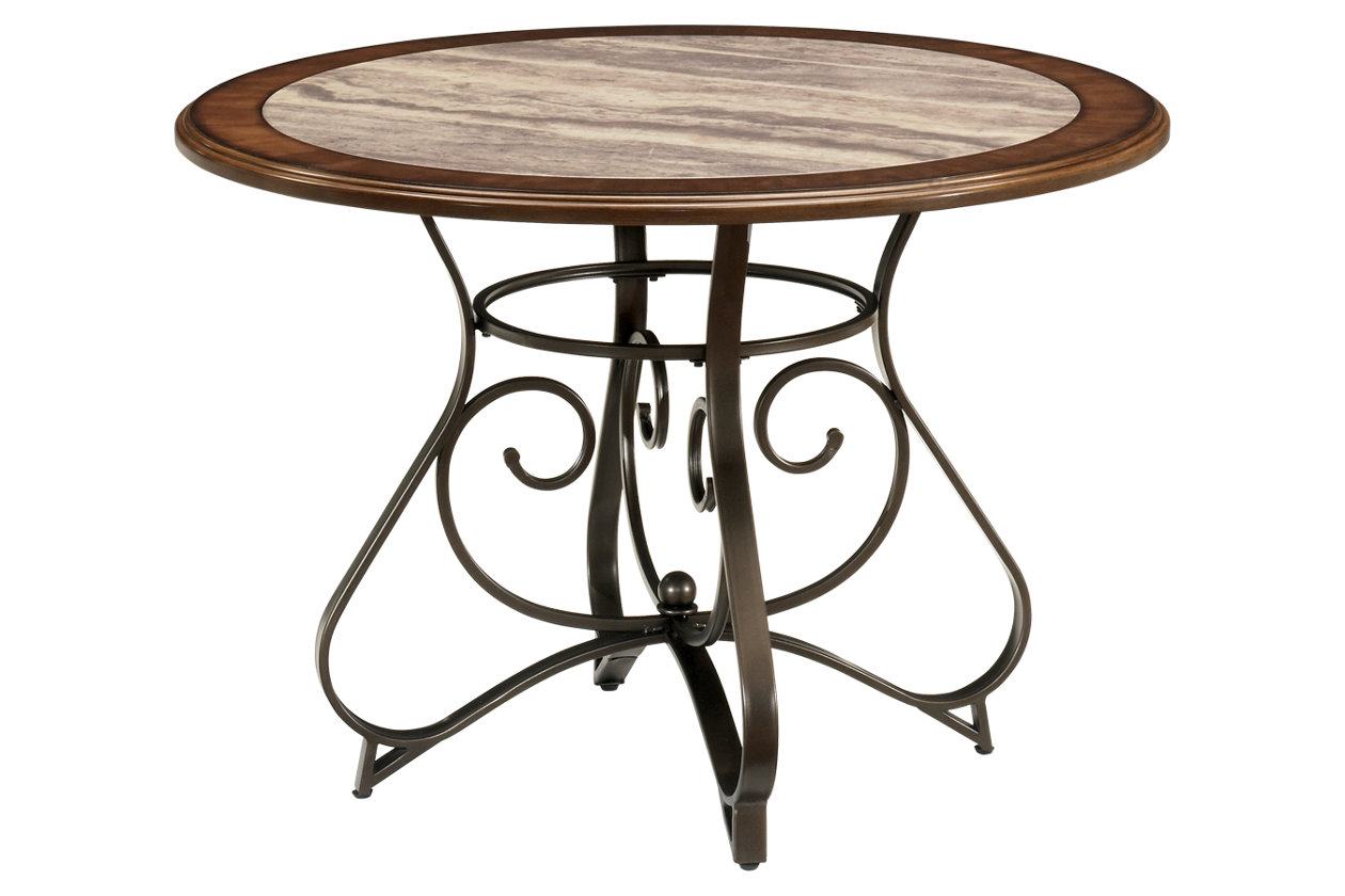 hopstand table and base ashley furniture home middletown accent patio small round garden cover white side coffee extra wide console wood serving companies metal with drawers gray
