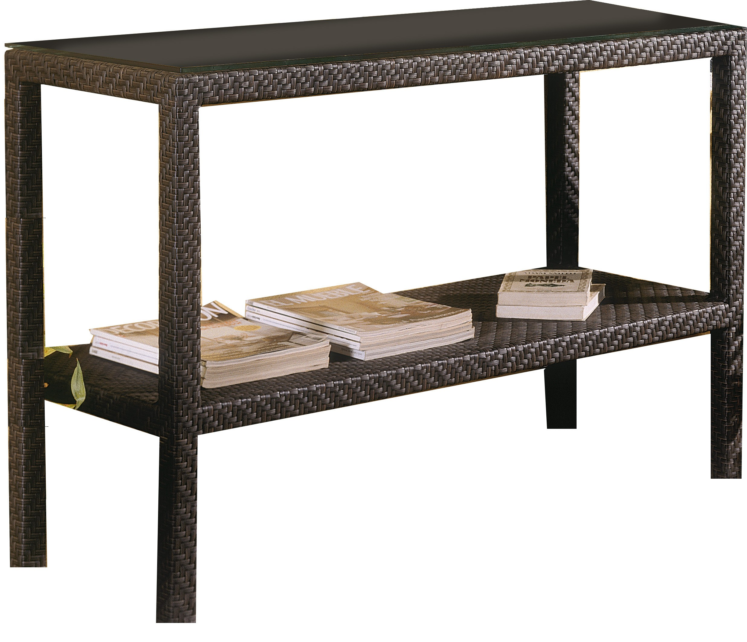 hospitality rattan wicker console table narrow outdoor sideboard all weather storage wide bedside cabinets acrylic top coffee wine cabinet rectangular nesting tables gold bedroom