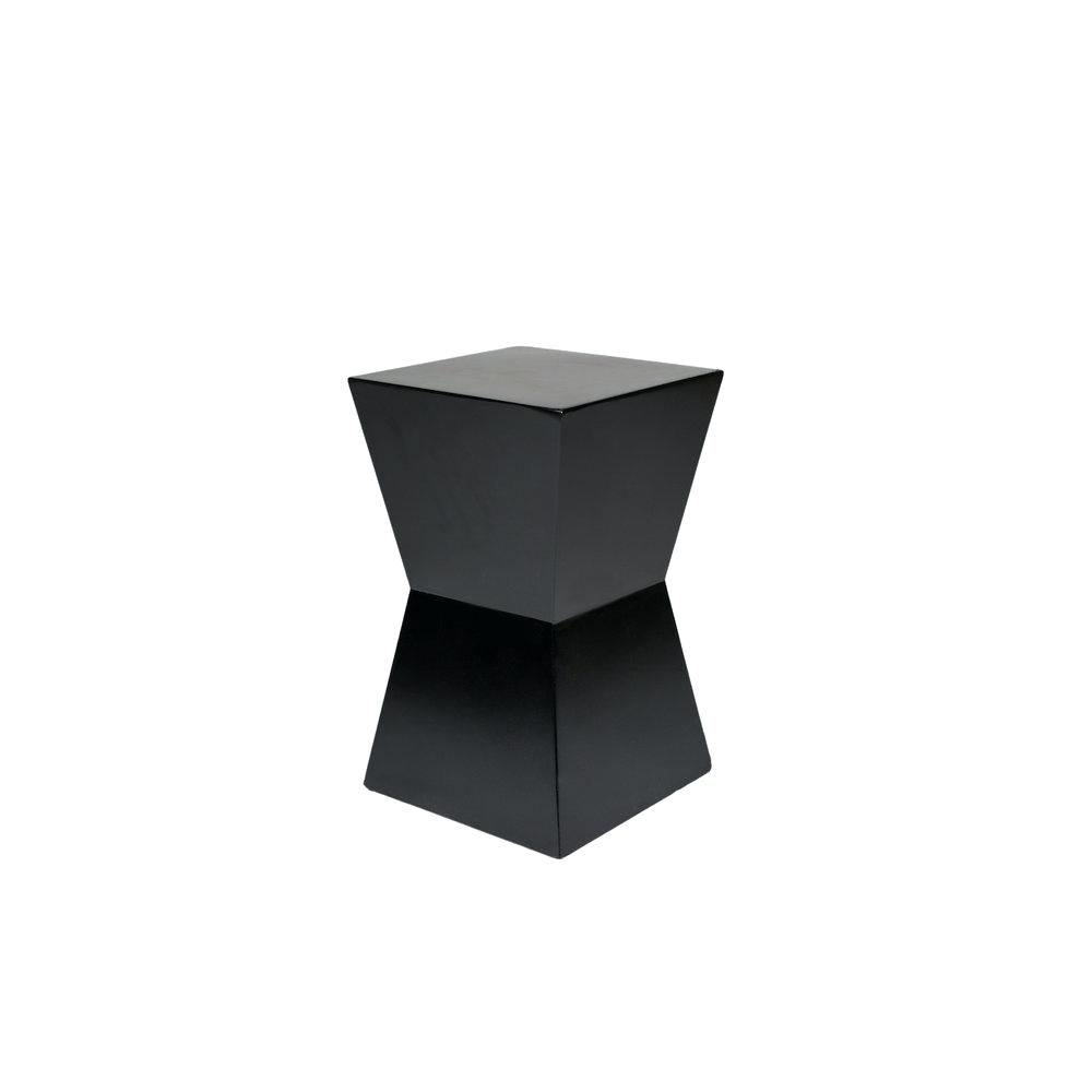 hourglass accent table threshold patio side tables mentapp target white small grey bedside battery operated hanging lamp black wall clock west elm mid century tripod floor cabinet