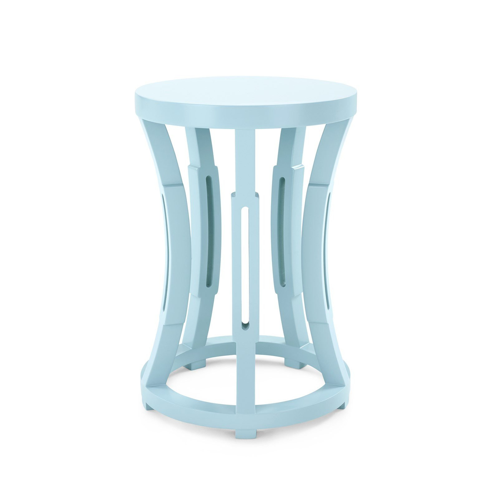 hourglass end table rivet modern marble top and collection accent powder blue products threshold west elm mid century desk inexpensive round tablecloths furniture lighting