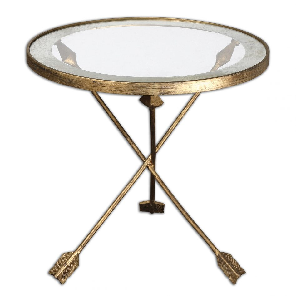 hourglass metal accent table mirror top gold homepop furniture safavieh ormond foxa the home target rectangular patio umbrellas rustic coffee set vintage cabinet hardware ikea
