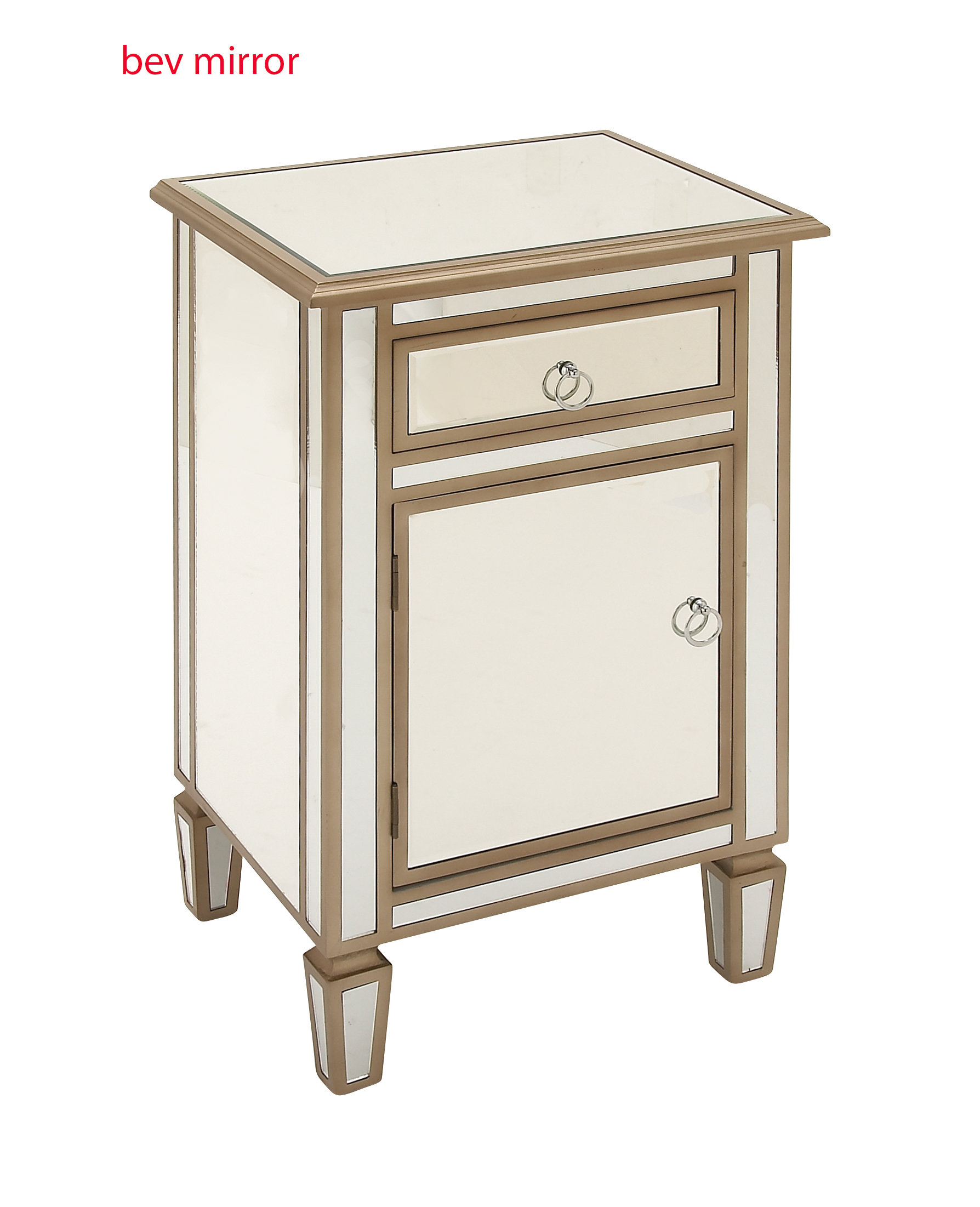 house hampton brinley drawer accent chest birch lane woodmirror side cabinet don mirrored table clear wood mirror crystal desk lamp end with built ikea white bedside counter