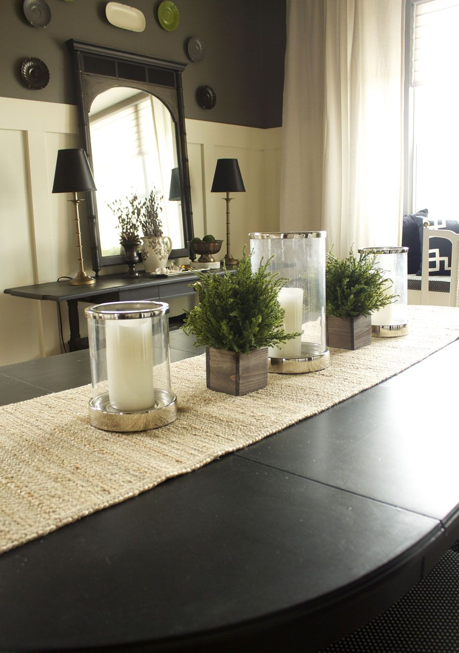 house you rhome homesweethome dining room table accent decor ideas centerpiece dinning solid brass coffee pottery barn sawyer wine stand chair set square side large patio