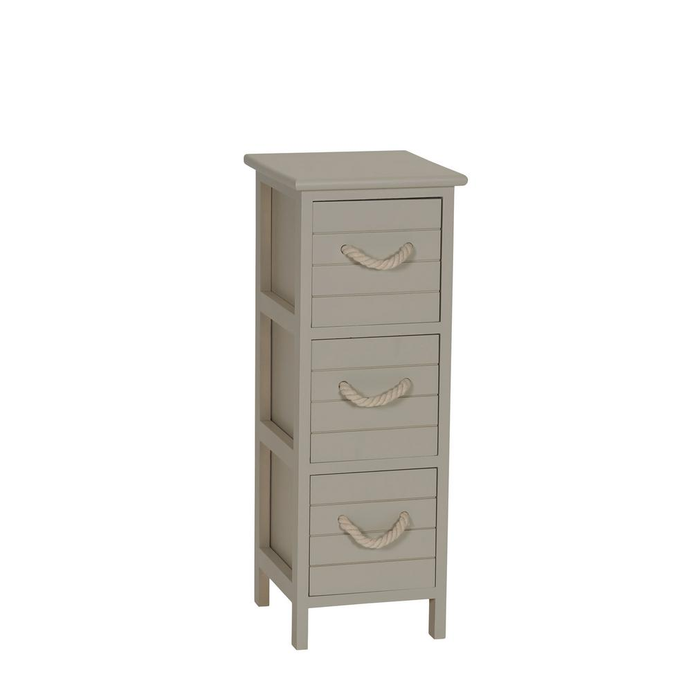 household essentials seaside brown drawer narrow storage side taupe end tables room accent table small white garden contemporary lamps cream dining chairs club chair patio coffee