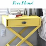 how build leg accent table free plans home diy base learn your own from scratch with the super easy for customized look and fraction skinny console target wood end american iron 150x150