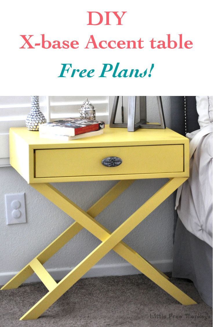 how build leg accent table free plans home diy base learn your own from scratch with the super easy for customized look and fraction skinny console target wood end american iron