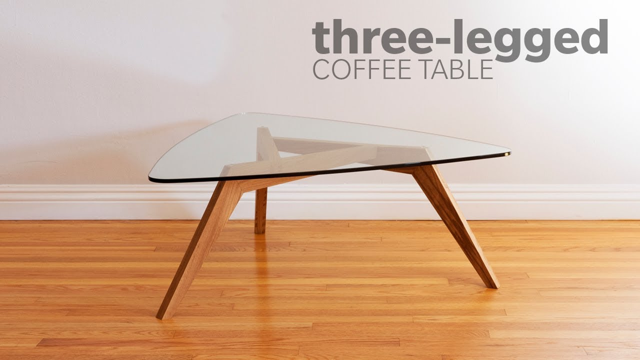 how build mid century modern coffee table with legs accent woodworking butcher block slab meyda tiffany dragonfly lamp large sofa tablecloth for inch round patio cover marble side