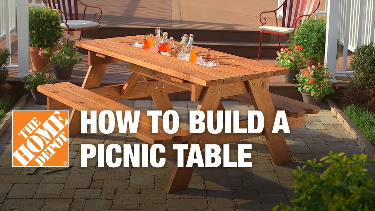 how build nic table with built cooler the outdoor side pier curtains mirrored tray piece nesting set kids reading nook adjustable magnussen pinebrook end one area rugs furniture
