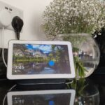 how change assistant voice home tech advisor hub accent tablette victorian table lamps verizon lte tablet perspex console seattle lighting bellevue foyer and mirror target baby 150x150