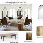 how coordinate coffee accent tables like designer maria mirrors with matching killam tile top table ashley furniture front entry pier semi circle round oak wood end storage marble 150x150