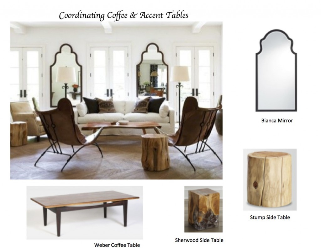 how coordinate coffee accent tables like designer maria mirrors with matching killam tile top table ashley furniture front entry pier semi circle round oak wood end storage marble