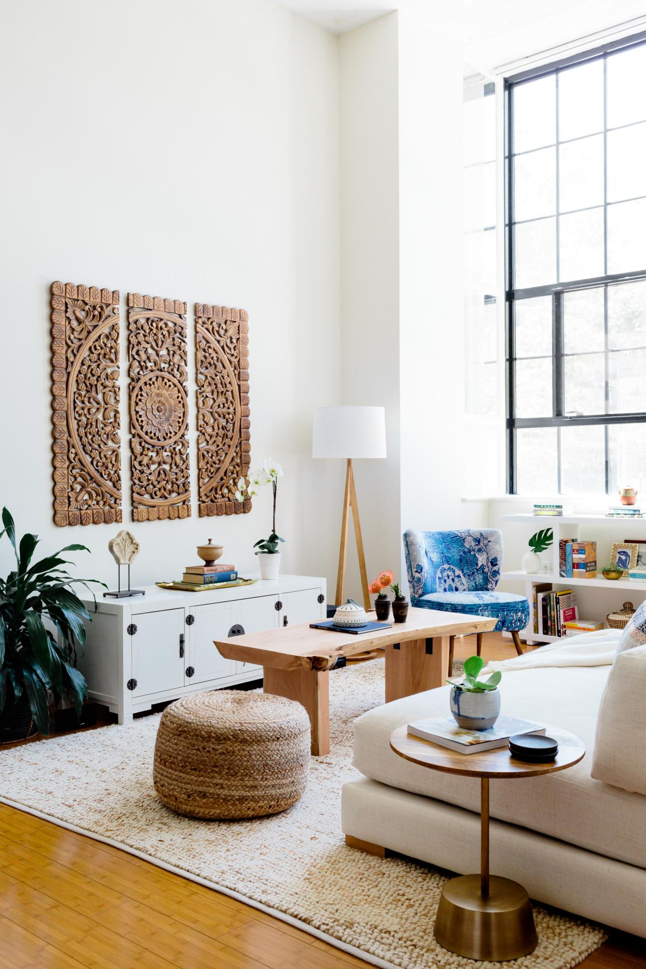 how decorate with rattan decorating design blog room essentials white accent table loft living accents that bring texture space solid wood entry home decor centerpiece laminate