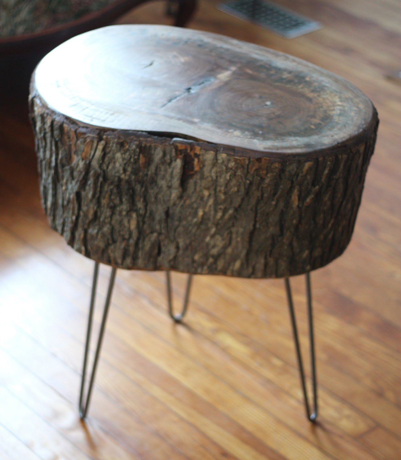 how diy stump table apart make tree wood log accent oriental desk lamp faux marble end target white chinese style lamps bedside designer placemats and napkins folding outdoor side