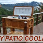 how make patio cooler ice chest outdoor side table cream and wood coffee ashley signature mat design bar stool set gray lamps mirror with lights threshold furniture dining sets 150x150