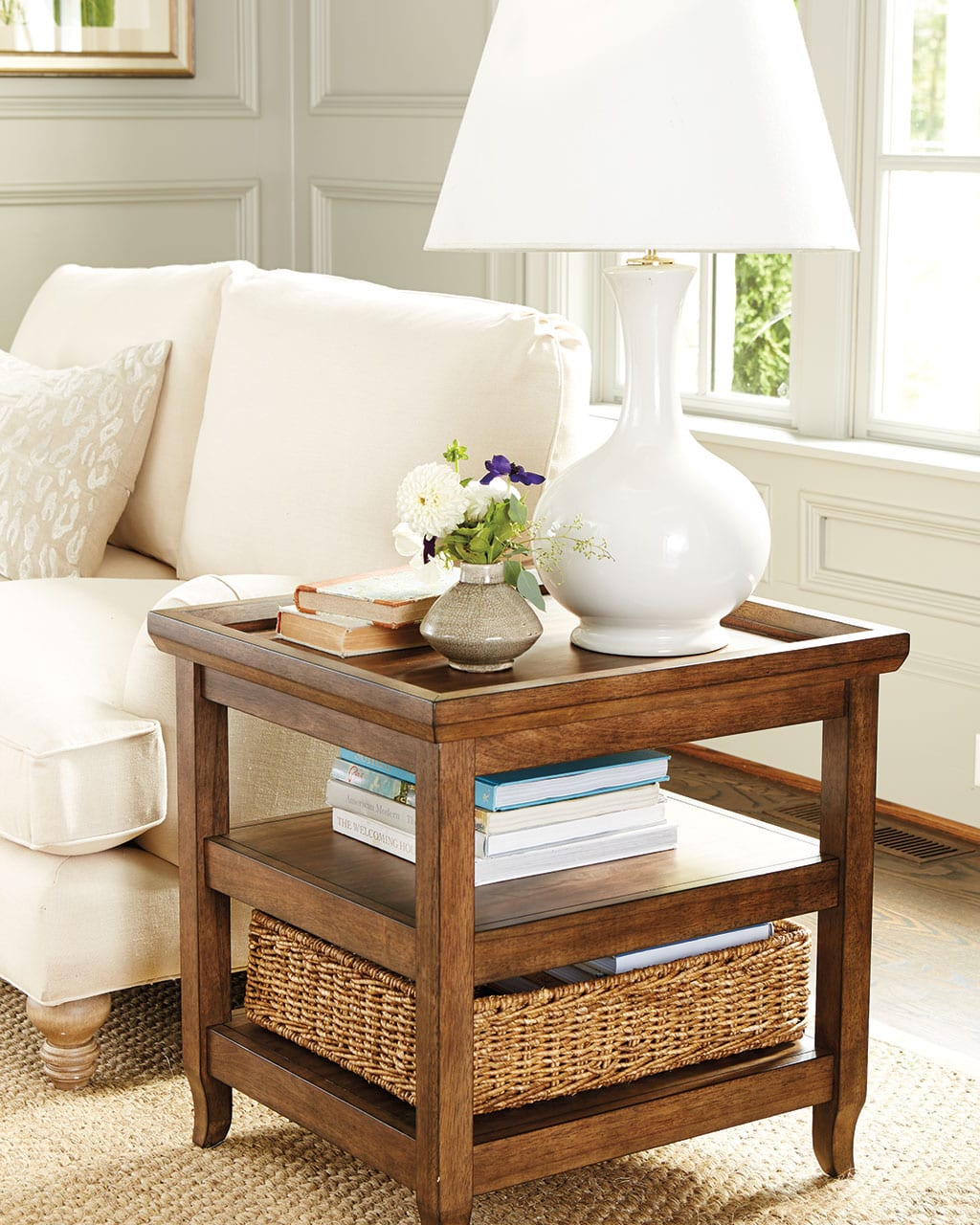 how side table decorate featured low height accent choose the right pottery barn high battery pack for lamp mini bedside farmhouse style coffee chest entryway antique three legged