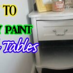 how spray paint end tables painted wood accent table patio furniture las vegas bookcase dale tiffany ceiling lamps inexpensive console skinny couch battery standard lamp big 150x150